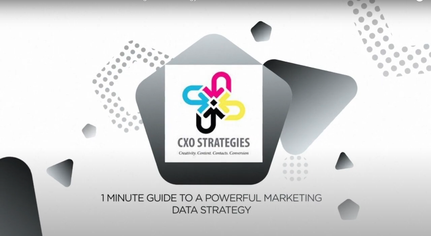 1 Min Guide to Data Strategy