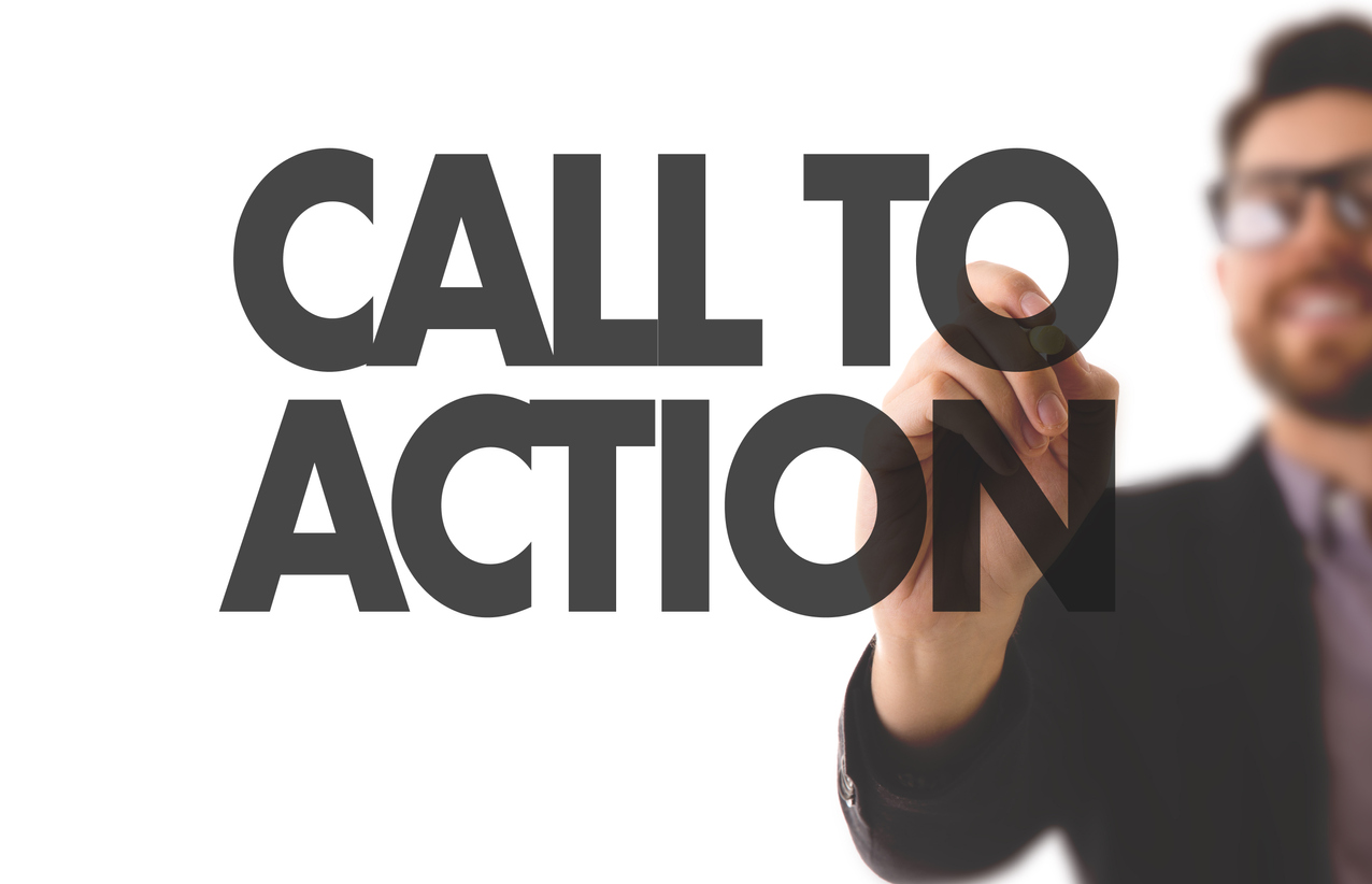The right call to action